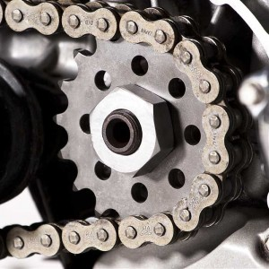 British Customs 19-Tooth Front Sprocket Conversion