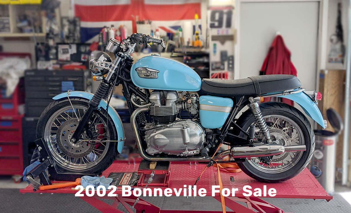 2002 Bonneville For Sale