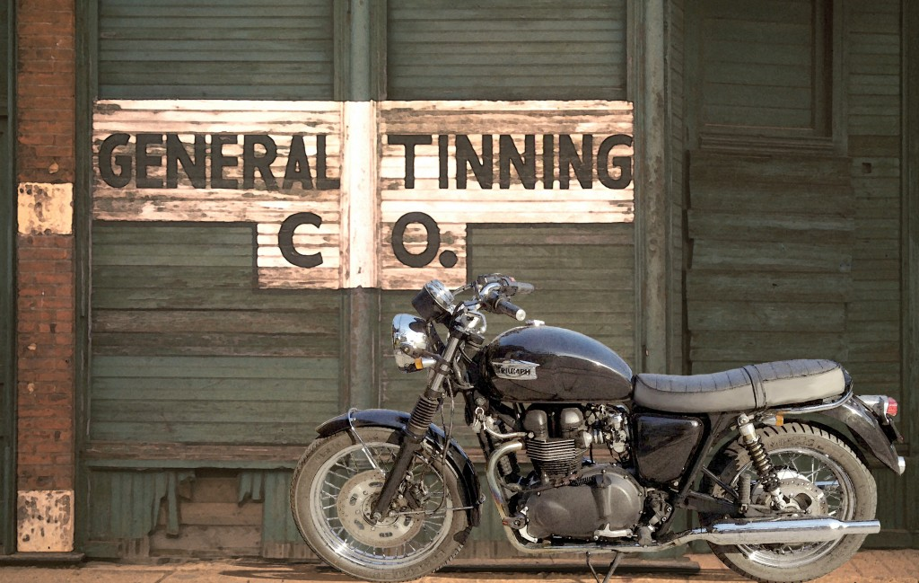 2008 Triumph Bonneville Black