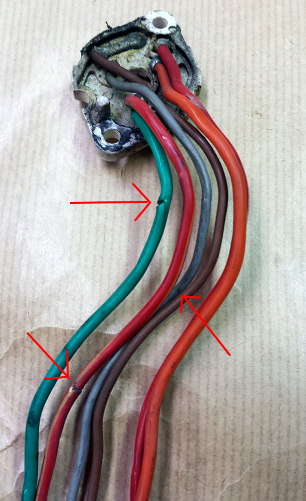 [WQZT_9871]  Cracked Ignition Wiring Repair | Triumph Bonneville - A Personal Moto Blog | Triumph Wiring Harness Repair Tape |  | Triumph Bonneville