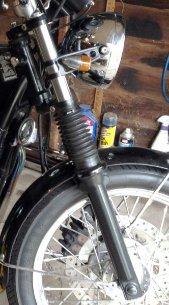 2008 Triumph Bonneville Suspension