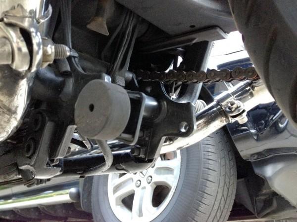 BC Predator Kickstand Bracket Installed