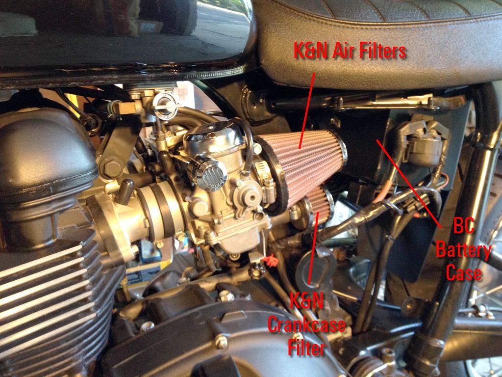 Airbox Removal Kit Day One Triumph Bonneville A Personal Moto Blog