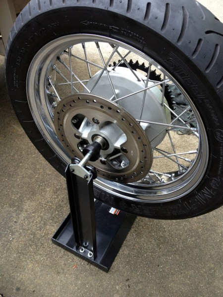 Balancing my rear tire and wheel