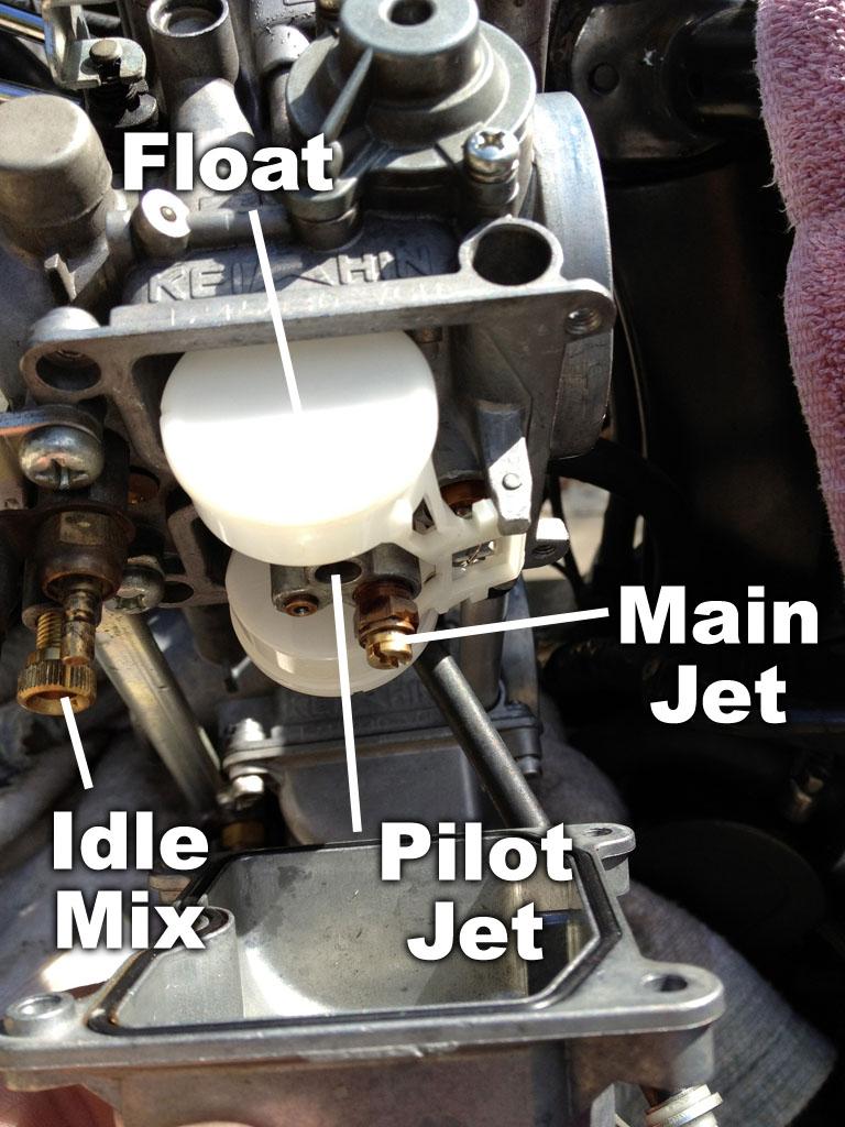 Re Jetting The Keihin Cvk Carburetor Triumph Bonneville A