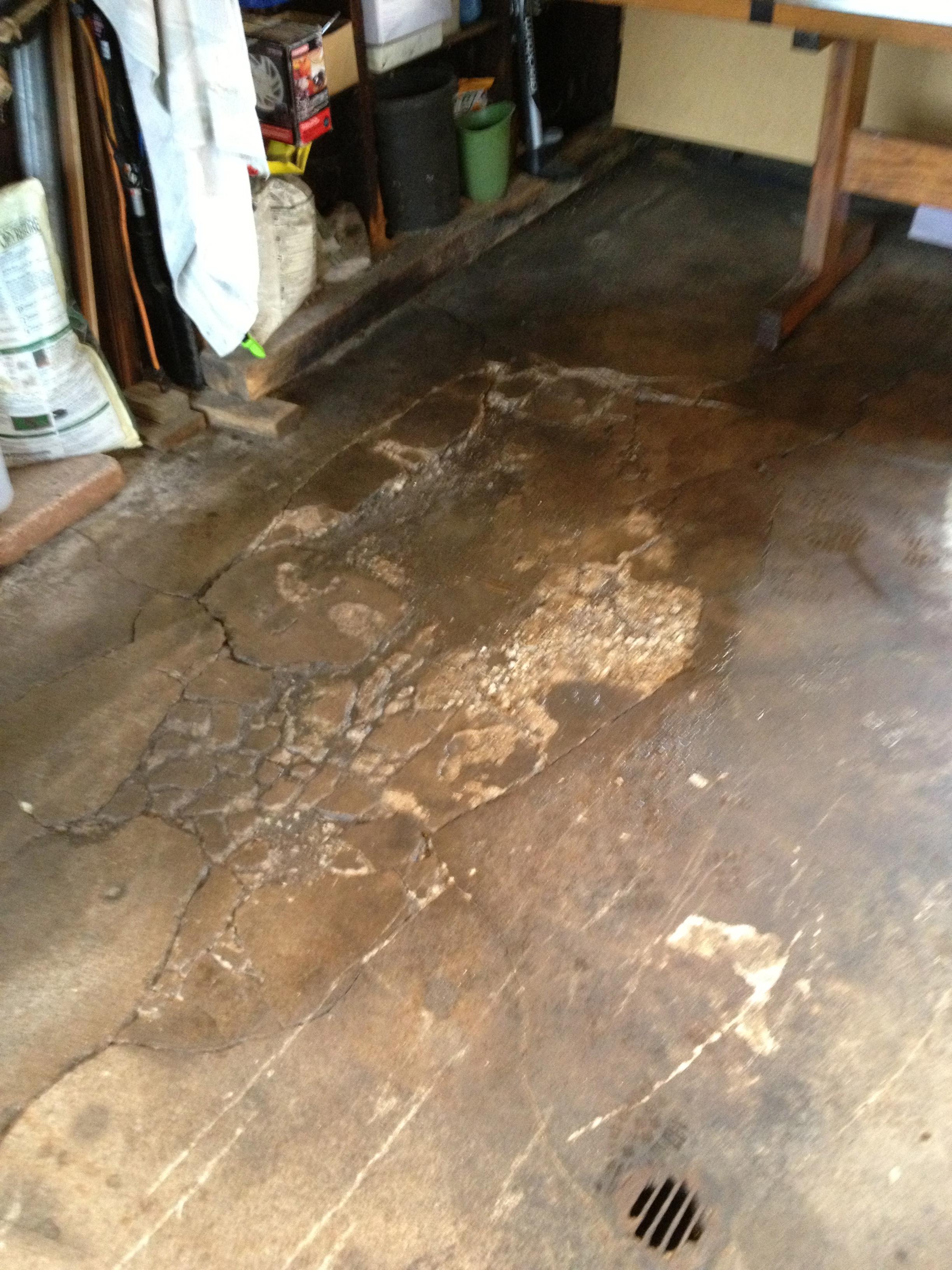 More Garage Floor Upgrades Triumph Bonneville A