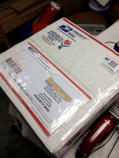 Package from Bonneville Performance with Mikuni Carb Kit