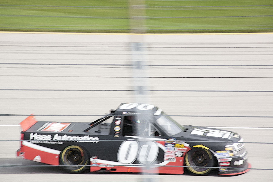 Chicagoland Speedway Nascar Truck Race