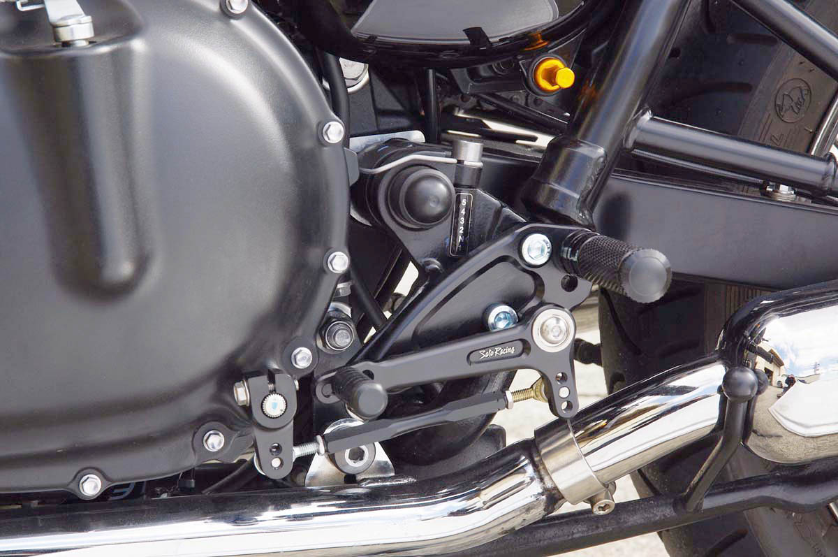 How To Install The Sato Racing Rearsets On A 2008 Triumph Bonneville
