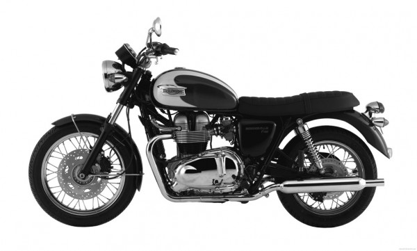 Triumph Motorcycle Technical Blueprints and Photos