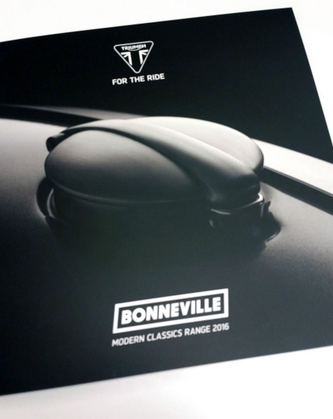 New Bonneville Sales Booklet - Cover
