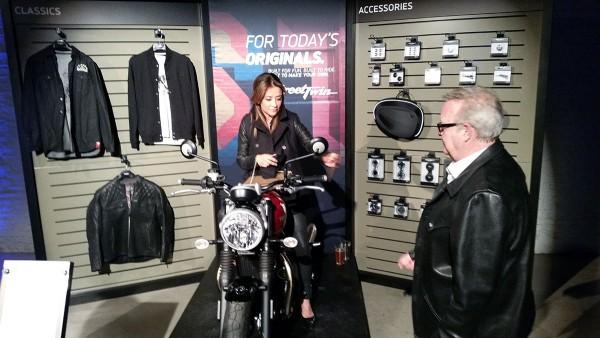 Bonneville Street Twin Rider