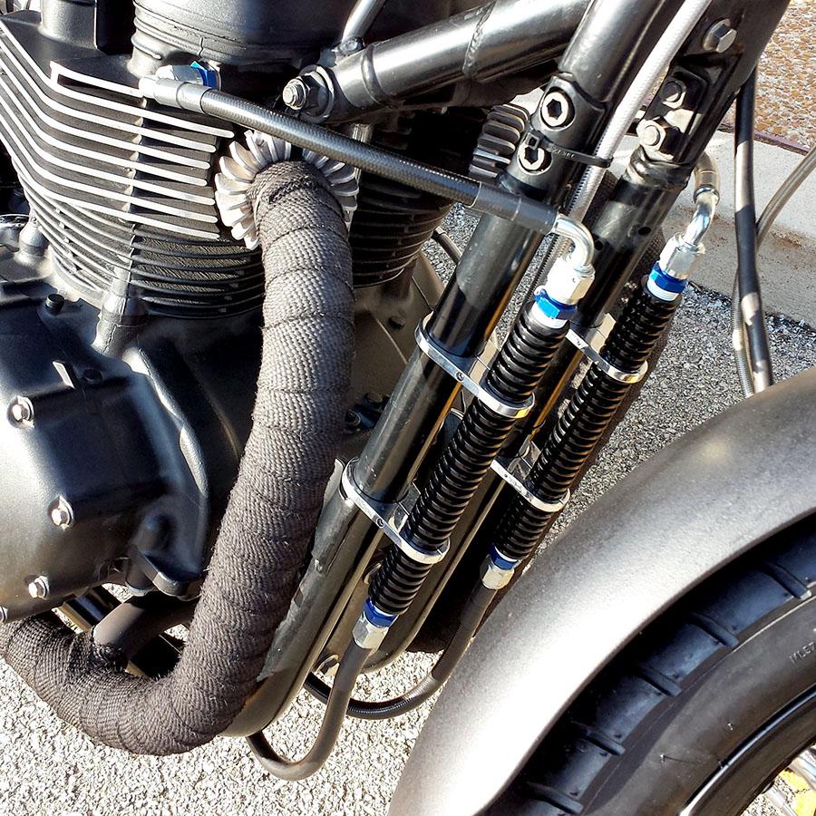 Bonneville Performance Oil Cooler Kit Upgrade