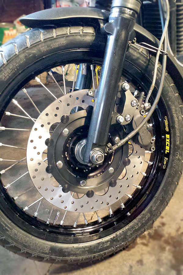 Brembo Front Brake Upgrade