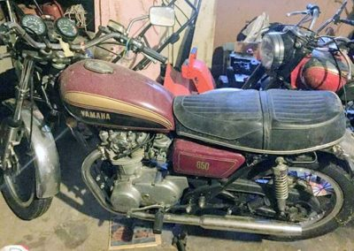 1977 Yamaha XS650D