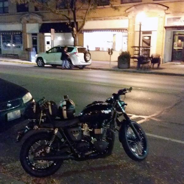 Coffee and donuts at o'dark thirty.