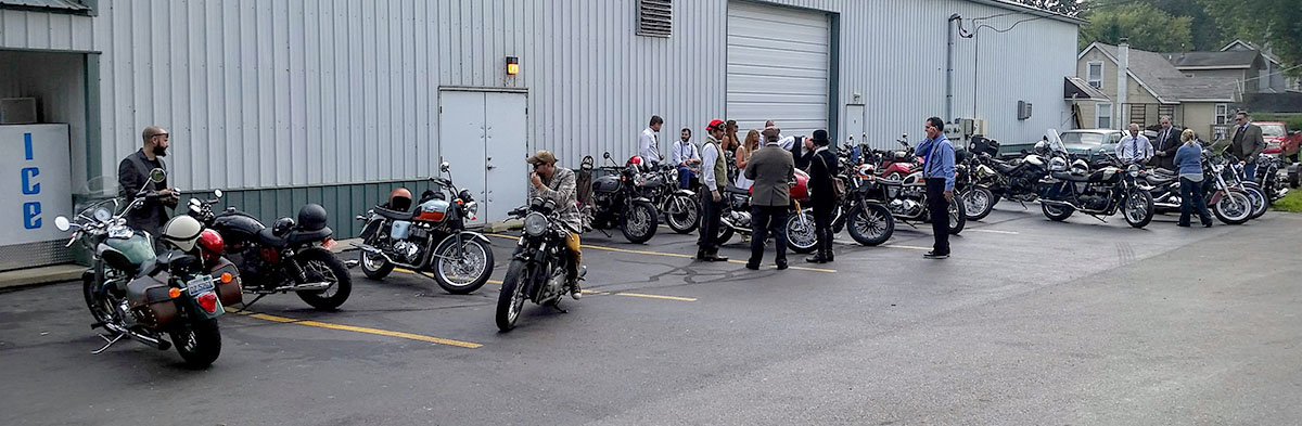 We had a great assortment of motorcycles and riders on our ride!
