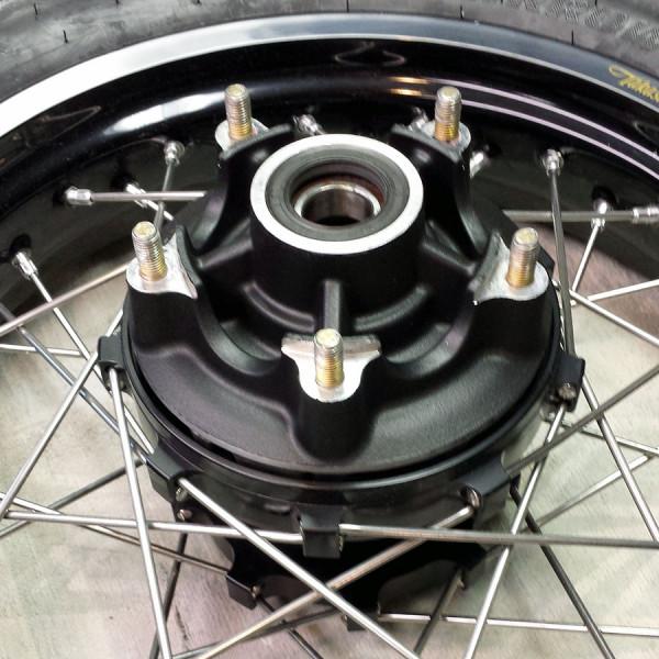 fit on rear wheel hub