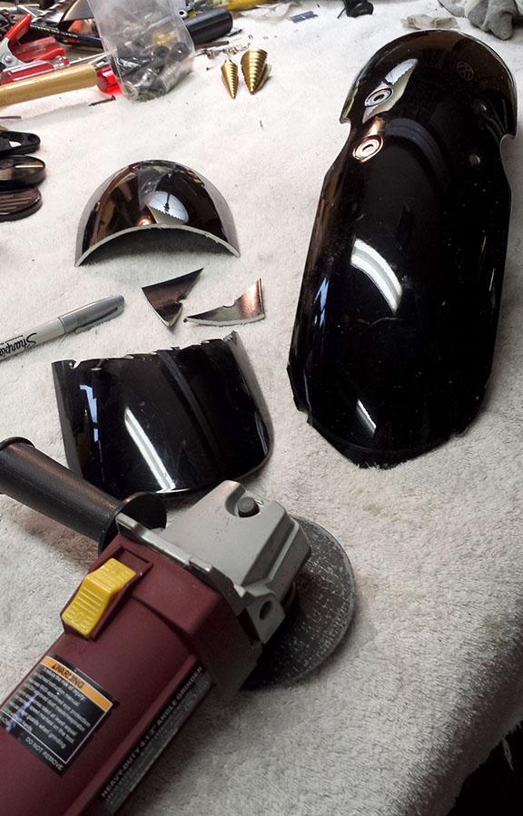 Bobbed Front Fender Triumph Bonneville A Personal Moto
