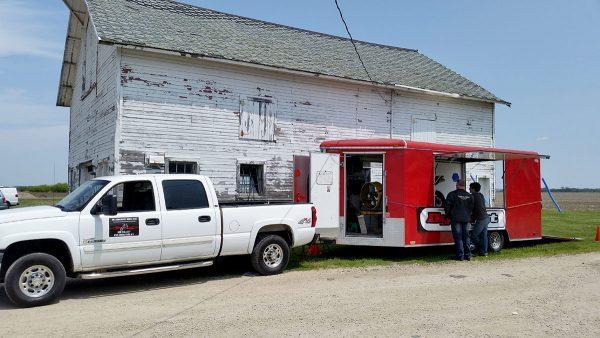 Mobile Dyno at Team Triumph, Janesville, WI.