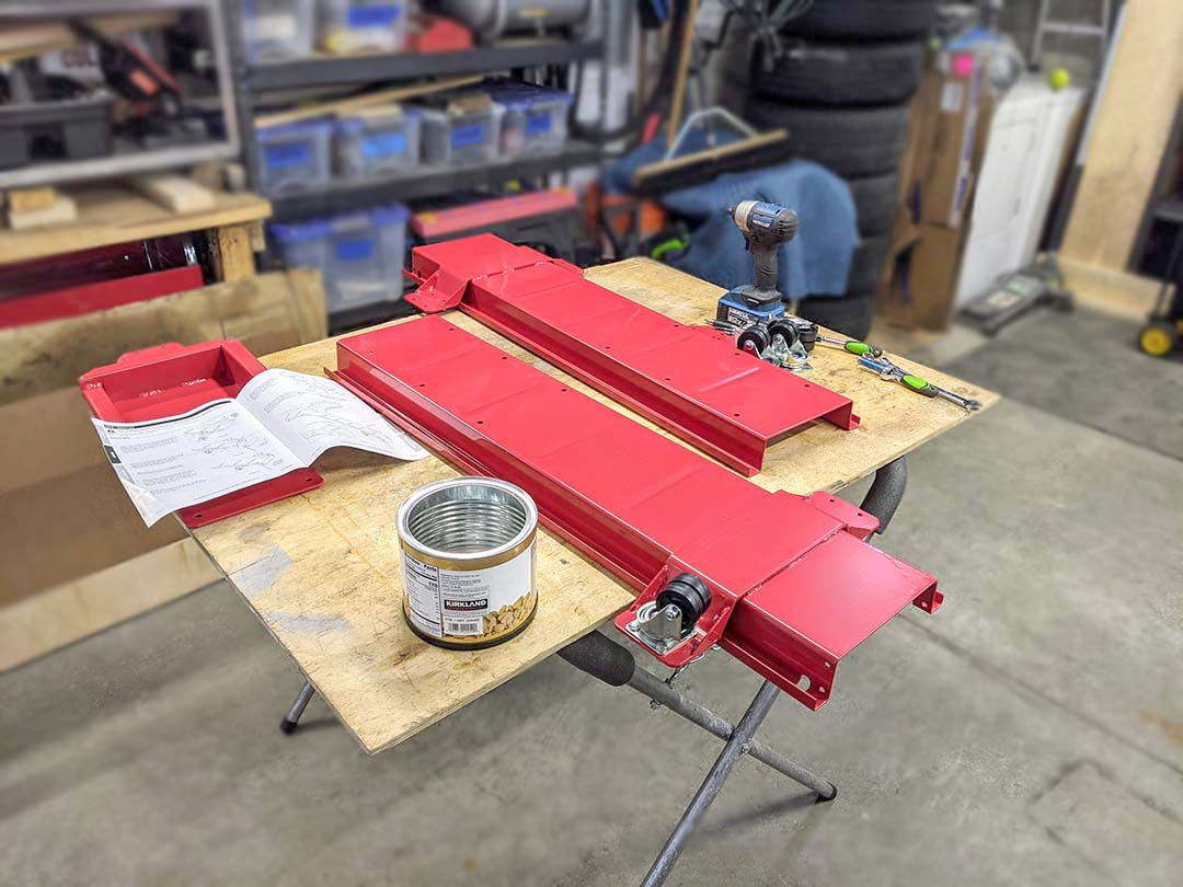 Harbor Freight - Motorcycle Dolly Assembly