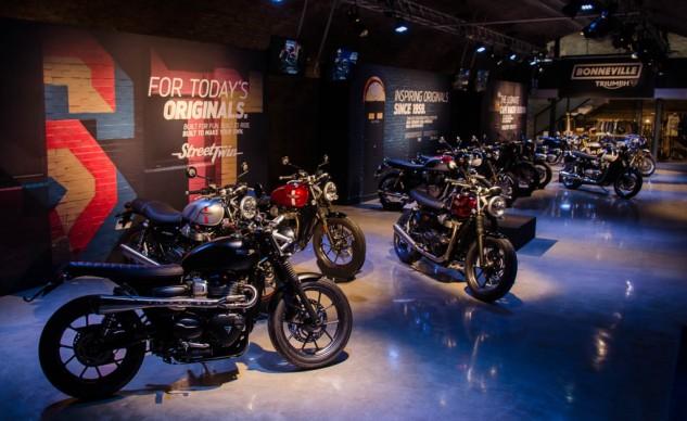 Motorcycle.com reviews the 2016 Bonneville model line-up