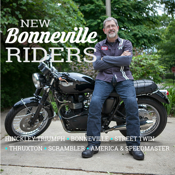 New Bonneville Riders Forum