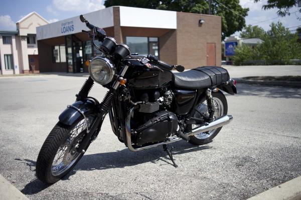 Randal's 2008 Triumph Bonneville