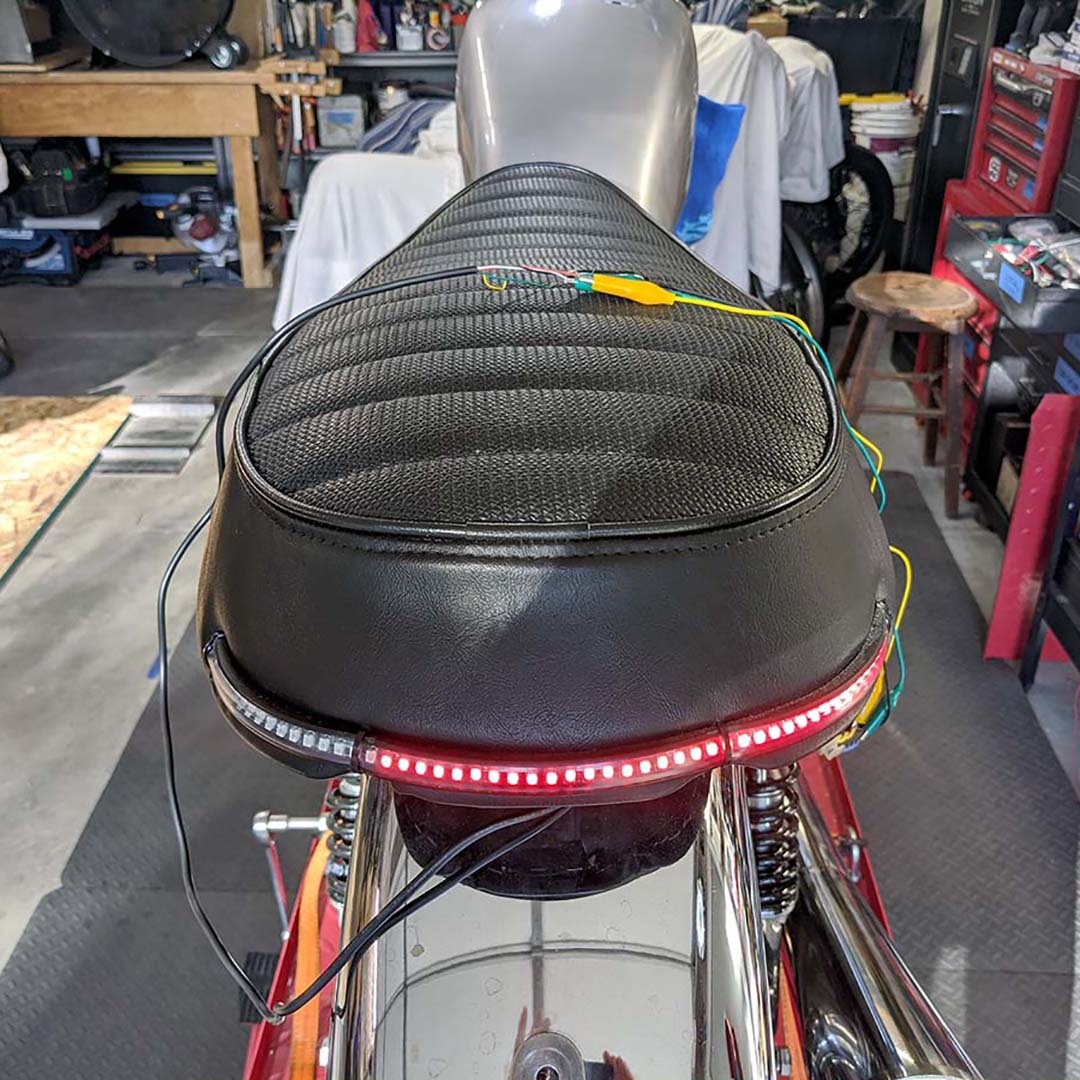"DCC rear 13"" LED dead"