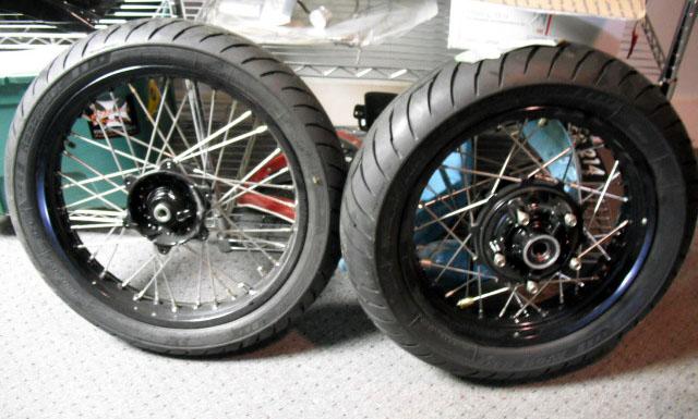 2008 Triumph Bonneville Wheel And Hub Upgrade Options Triumph