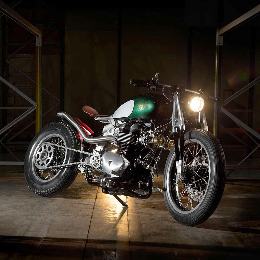 Triumph Factory Custom Build-Off