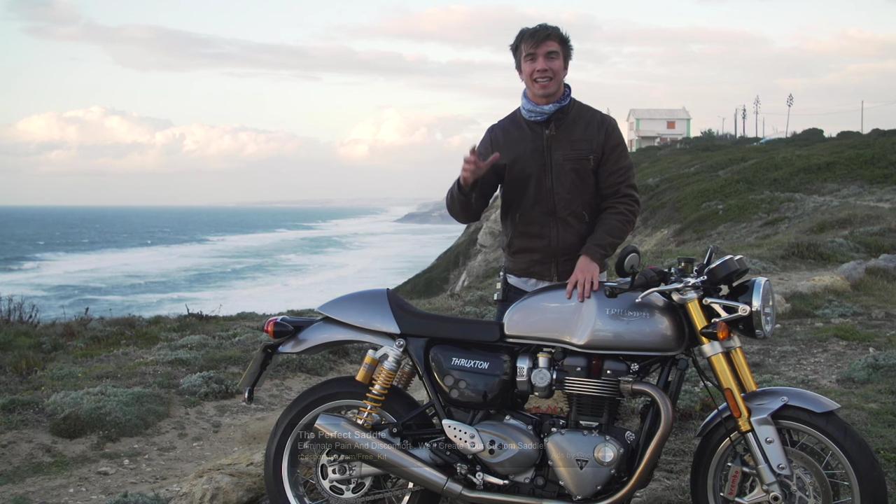 Thruxton R Test Ride Video