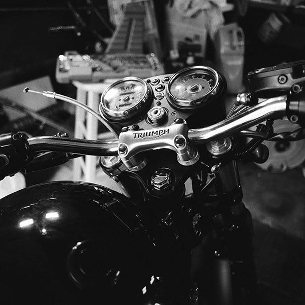 Old School Film Photos of Randy's Bonneville and Garage