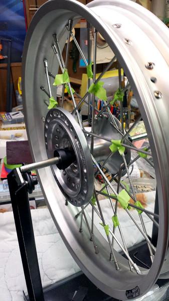 wheel-on-balancing-stand